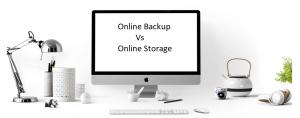 Backup and Storage