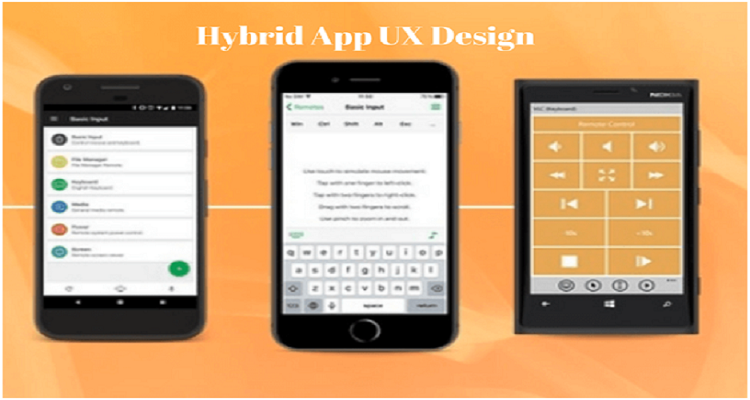 hybrid app design