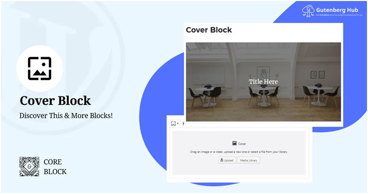 WordPress Cover Block