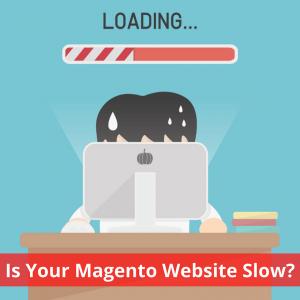 Magento website low