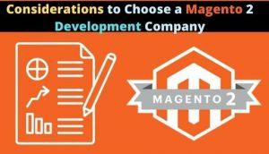 choosing a Magento 2 development company