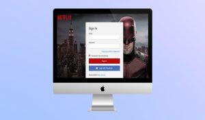 Netflix sign in via social networks